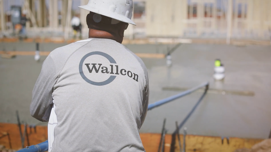 Wallcon Foundation Concrete Team